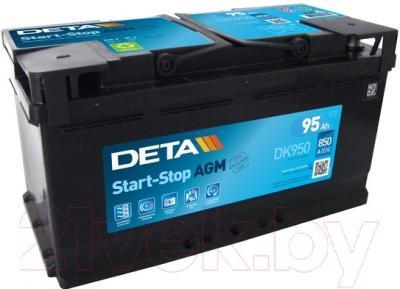 Автомобильный аккумулятор Deta Start-Stop AGM DK950