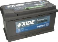 Автомобильный аккумулятор Exide Premium EA1000 (100 А/ч) -