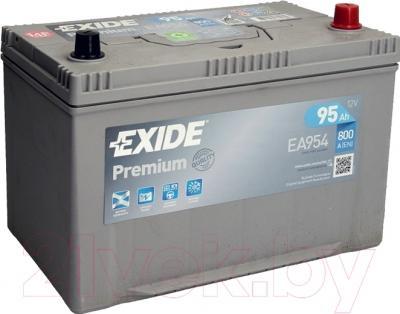 Автомобильный аккумулятор Exide Premium EA954