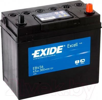 Автомобильный аккумулятор Exide Excell EB456