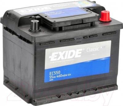 Автомобильный аккумулятор Exide Classic EC550