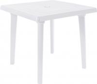 Стол пластиковый Алеана Квадратный 80x80 / 100012 (белый) -