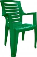 Стул пластиковый Алеана Рекс (зеленый) -