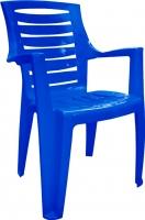 Стул пластиковый Алеана Рекс (темно-синий) -