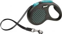 Поводок-рулетка Flexi Design FLX428 (S, синий, ременной) -