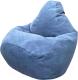 Бескаркасное кресло Flagman Груша Макси Г2.5-27 (синий) -