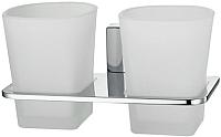 Стакан для зубных щеток Wasserkraft Leine K-5028D -