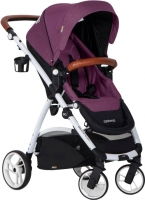 Детская прогулочная коляска EasyGo Optimo (Purple) -