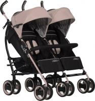 Детская прогулочная коляска EasyGo Duo Comfort (Latte) -