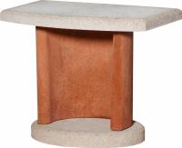 Боковой столик для барбекю Buschbeck Bside 1 (терракотовый) -
