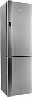 Холодильник с морозильником Hotpoint-Ariston HF 9201 X RO -