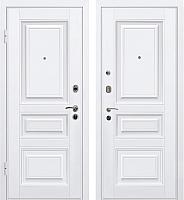 Входная дверь МеталЮр М11 Белый/белый (86x205, левая) -