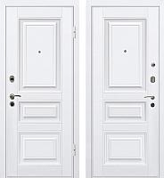 Входная дверь МеталЮр М11 Белый/белый (96x205, правая) -