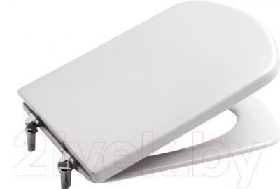 Фото - Сиденье для унитаза Roca Dama Senso крышка сиденье для унитаза roca dama senso zru9302820 дюропласт с микролифтом белый