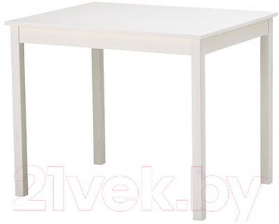 Обеденный стол Ikea Олмстад 502.403.85 (белый)