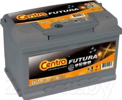 Автомобильный аккумулятор Centra Futura CA722