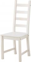 Стул Ikea Каустби 803.342.26 (белая морилка) -