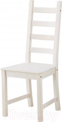 Стул Ikea Каустби 803.342.26 (белая морилка)