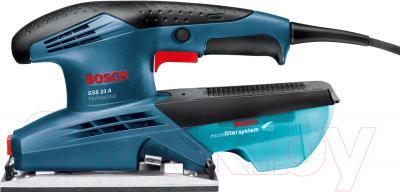 Профессиональная виброшлифмашина Bosch GSS 23 A Professional (0.601.070.400) - вид сбоку
