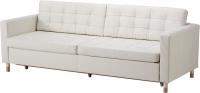 Диван Ikea Ландскруна 991.669.87 (белый/дерево) -
