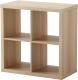 Стеллаж Ikea Каллакс 203.147.35 (беленый дуб) -