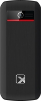Мобильный телефон Texet TM-126 (черный/красный) -
