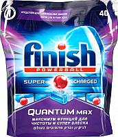Таблетки для посудомоечных машин Finish Quantum Max (40шт) -