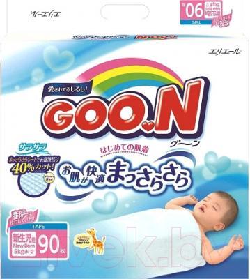 Подгузники детские Goo.N N/B до 5кг (90шт)