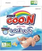 Подгузники детские Goo.N S 4-8кг (84шт) -