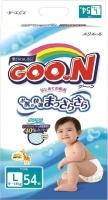 Подгузники детские Goo.N L 9-14кг (54шт) -