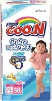 Подгузники-трусики детские Goo.N Girl XL 12-20кг (38шт) -