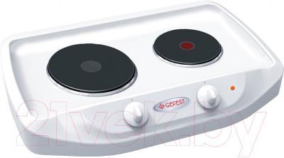 Электрическая настольная плита Gefest ПЭ 720 плита электрическая gefest пэ 720 белый эмаль настольная