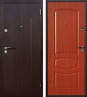 Входная дверь Йошкар Стройгост 7-2 Итальянский орех (96x206, правая) -