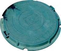 Люк канализационный Сандкор Тип Л 15кН (зеленый) -