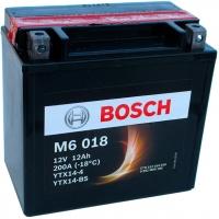 Мотоаккумулятор Bosch M6 YTX14-4/YTX14-BS 512014010 / 0092M60180 (12 А/ч) -
