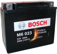 Мотоаккумулятор Bosch M6 YTX20L-4/YTX20L-BS 518901026 / 0092M60230 (18 А/ч) -