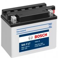 Мотоаккумулятор Bosch M4 YB4L-B 504011002 / 0092M4F170 (4 А/ч) -