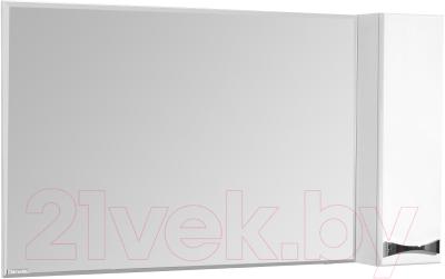 Шкаф с зеркалом для ванной Акватон Диор 120