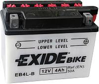 Мотоаккумулятор Exide EB4L-B (4 А/ч) -
