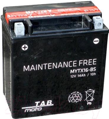 Мотоаккумулятор TAB YTX16-BS