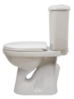 Унитаз напольный Оскольская керамика Суперкомпакт (белый, вертикальный выпуск) -