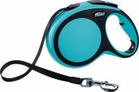 Поводок-рулетка Flexi New Comfort M 5m (ремнень синий) -