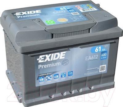 Автомобильный аккумулятор Exide Premium EA612