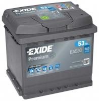 Автомобильный аккумулятор Exide Premium EA530 (53 А/ч) -