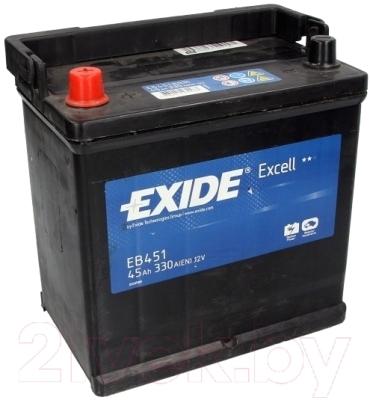 Автомобильный аккумулятор Exide Excell EB451