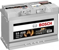 Автомобильный аккумулятор Bosch AGM S5 A08 570901076 / 0092S5A080 (70 А/ч) -