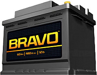 Автомобильный аккумулятор BRAVO 6СТ-60 / 560011009 (60 А/ч) -