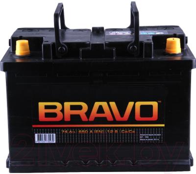 Автомобильный аккумулятор BRAVO 6СТ-74 Евро / 574010009