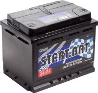 Автомобильный аккумулятор СтартБат 6СТ-55е / 555000005 (55 А/ч) -