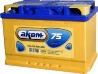 Автомобильный аккумулятор AKOM 6СТ-75 / 575001009 (75 А/ч) -